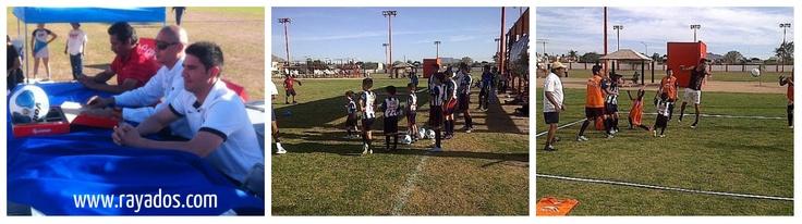 El de marzo se inauguró la Escuela Oficial #Hermosillo-#Rayados siendo ésta la primer escuela oficial del Club de #Futbol #Monterrey en #Sonora para formar talentos en las Fuerzas Básicas albiazules
