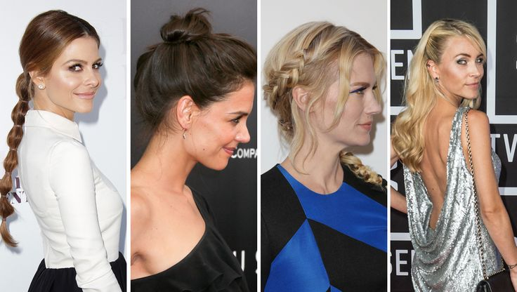 Opsat, løst eller i en lækker fletning? Håret er mindst lige så vigtigt som outfittet, hvis du gerne vil stråle til årets sidste fester. Lad dig inspirere til en festlig frisure af stjernerne på den røde løber