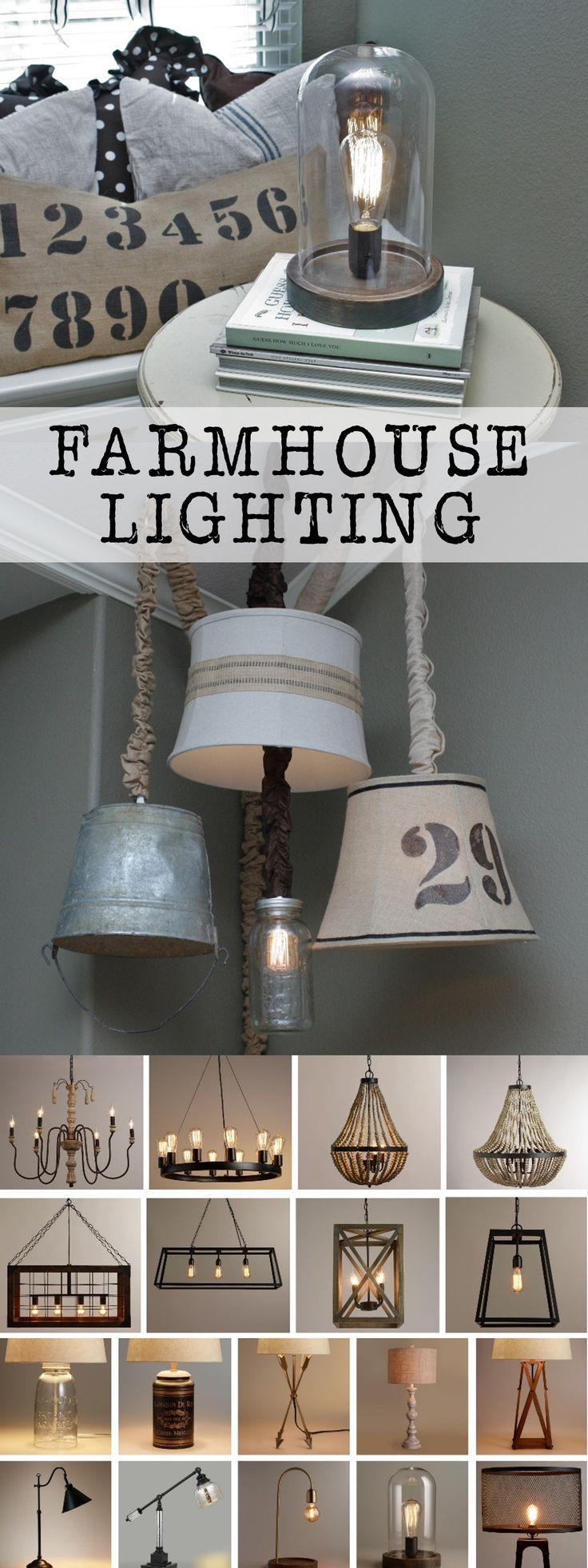 Lighting is such an important part of any space.  Today I am sharing some amazing farmhouse lighting options.  From lamps, to chandeliers, accent lighting, outdoors....I have you covered!! #DiscoverWorldMarket #WMAffiliate #Ad