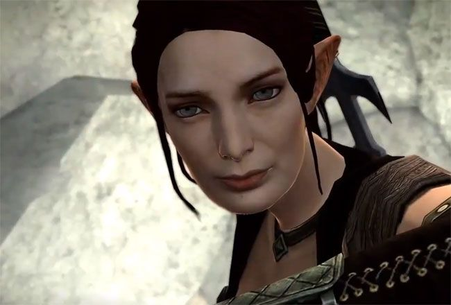 Tallis; I tried not to like her but it didn't work. Good job, Felicia Day, though I'm still mad you got to play the Skyrim demo at PAXPrime longer than me...