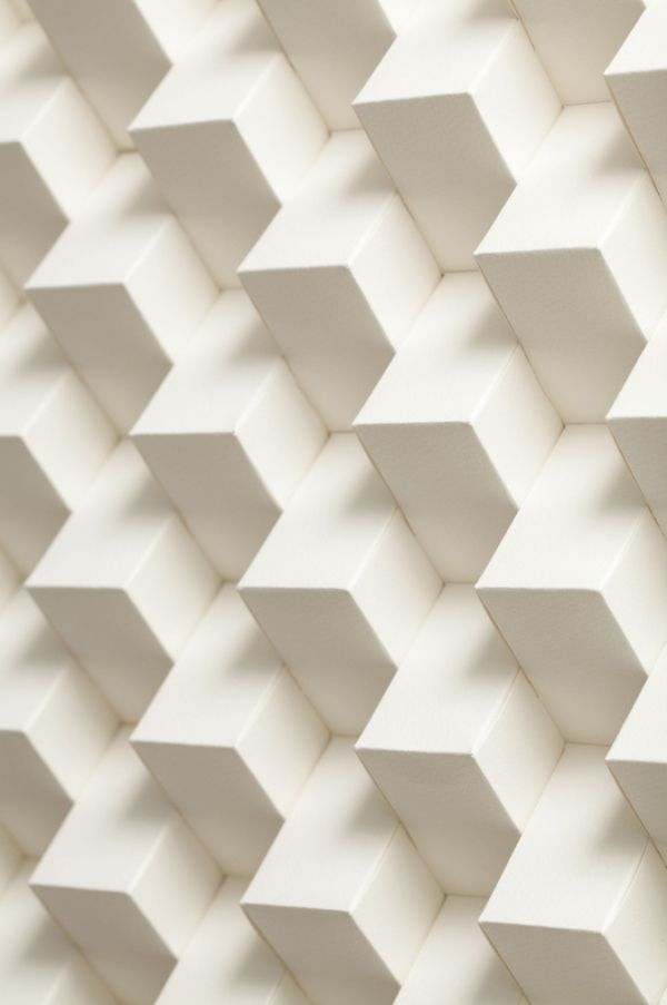 New Platonic 3D Paper Patterns by Benja Harney