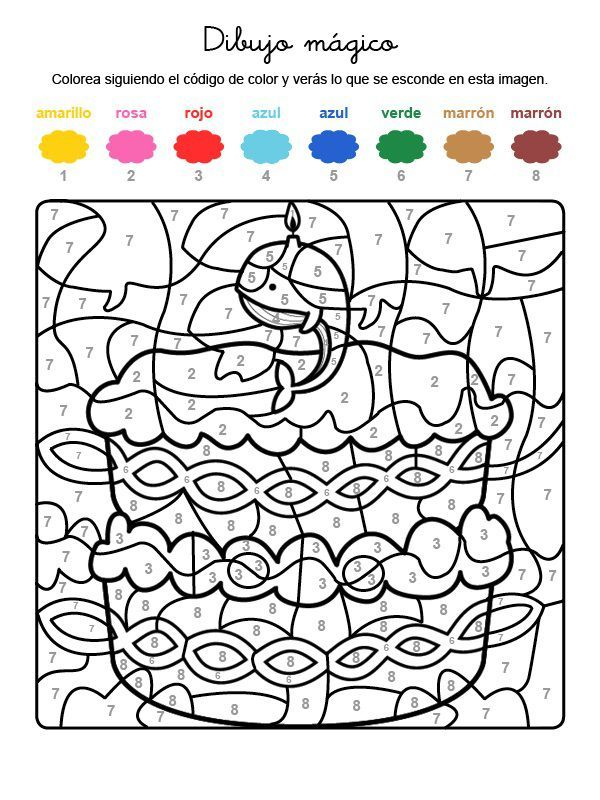 Dibujos Para Colorear De 7 A 10 Anos Colorear Dibujos Dibujosparapintar Childrens Colouring Book Math Coloring Coloring Pages