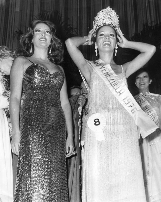 Miss Venezuela 1976 Elluz Peraza