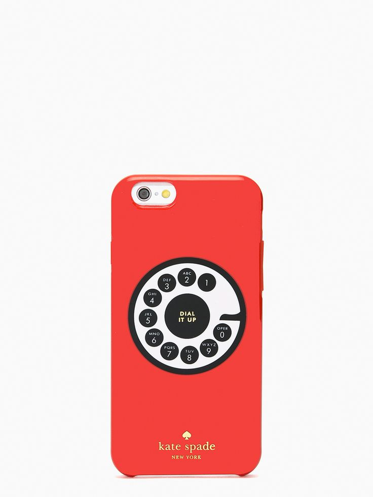 kate spade new york / resin iphone 6 rotary