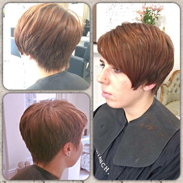 Restyle created by Sharron #asymmetric #haircut #york #salon #restyle