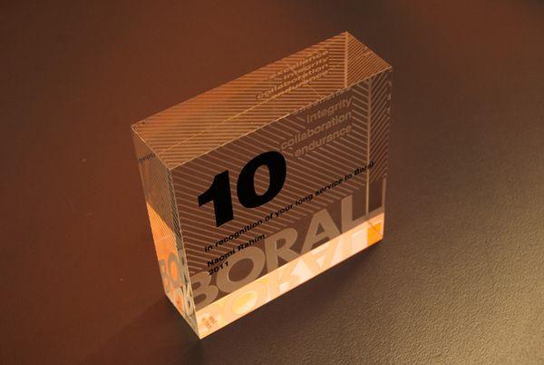 Boral Crystal Award  by auroradesign.nu    http://www.behance.net/gallery/Boral-Corporate-Awards/2034141