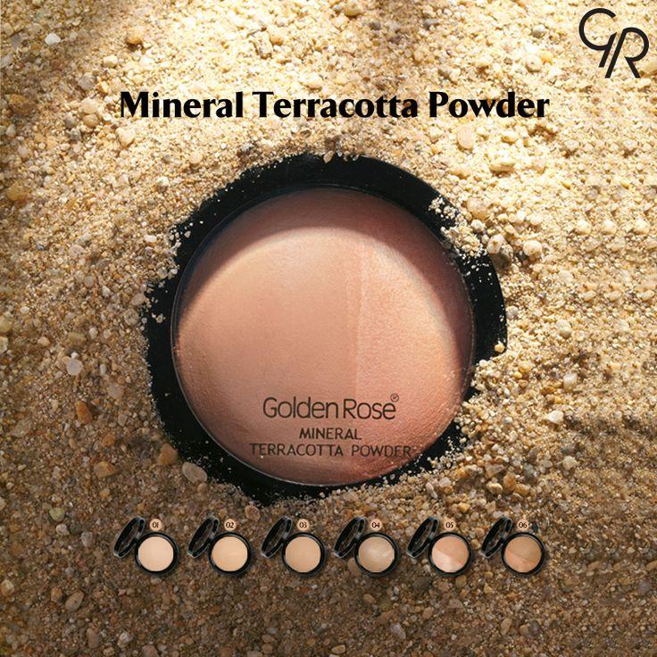 Doğada bulunan mika, silika, kaolin, manganez ve magnezyum gibi mineraller içeren Mineral Terracotta Powder, mükemmel kapatıcılığı ile birlikte cildinize doğal ve pürüzsüz bir görünüm verir. http://www.goldenrosestore.com.tr/mineral-terracotta-powder.html