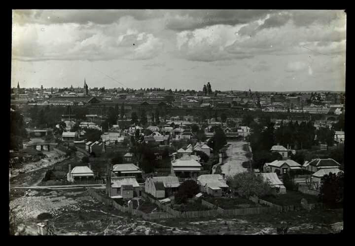 Ballarat from Black Hill in 1892. State Library of Victoria.