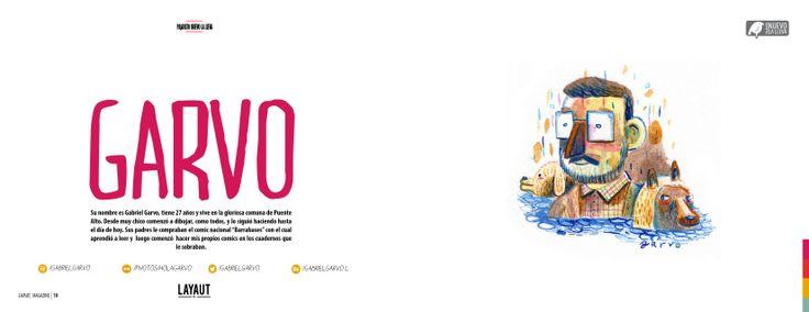 Y con ustedes nuestra sexta edición de #LAYAUTMAGAZINE , y en esta edición contamos con el trabajo de:  * Garvo   * Y mucho más !!  http://issuu.com/layautmagazine/docs/layaut_6_pdf