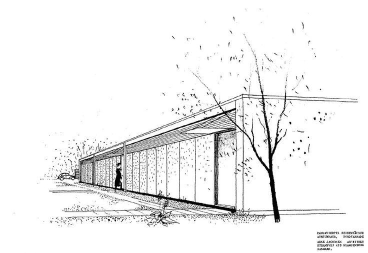 Die besten 17 ideen zu architektur skizze auf pinterest - Architektur skizze ...