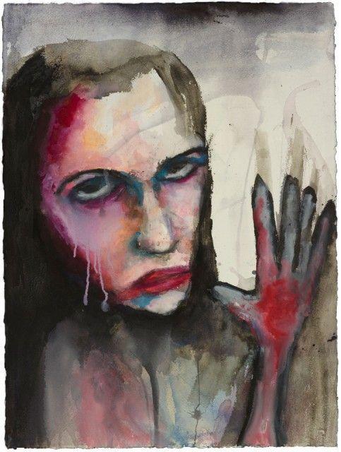 Célèbre 35 best marilyn manson paintings <3 images on Pinterest | Marilyn  KE23