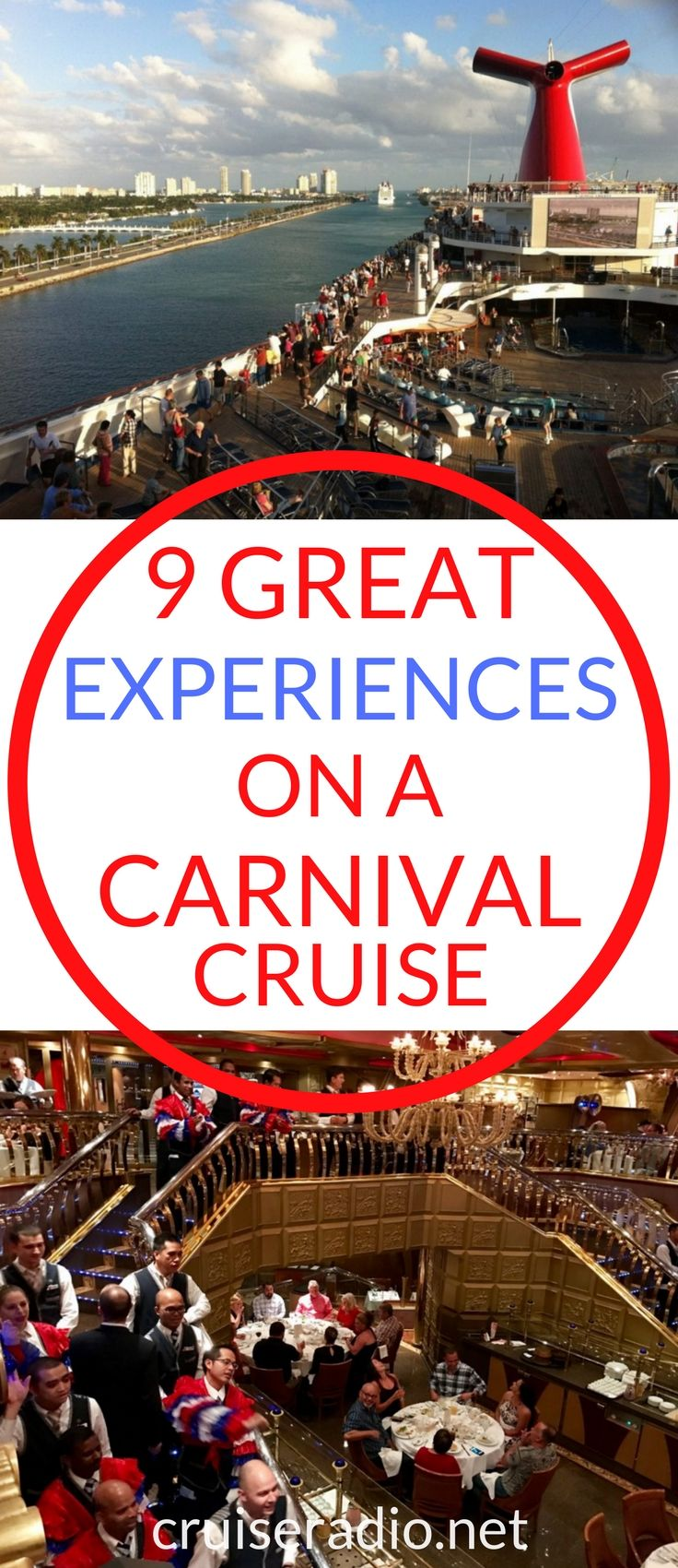 Whether it be the common special moments found on any cruise, or the unique entertainment offered, every Carnival cruise line has a list of must do items.