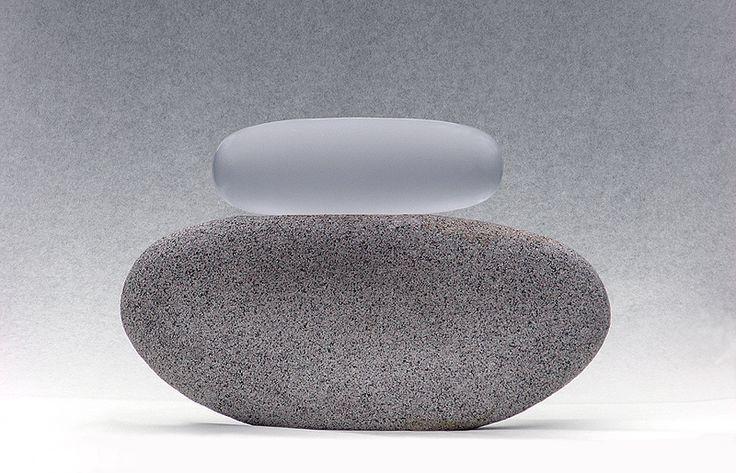 Markku Salo / Stone-Glass /Hyvän kosketus (Good touch), 2009.