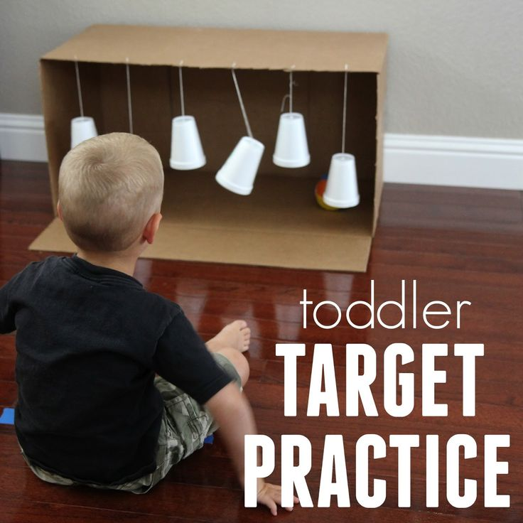 For our last A Very Toddler Olympics activity  this week we decided to take some of the skills used in some of our favorite Olympics throwi...