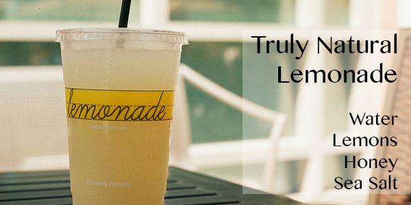 Truly Natural Lemonade #lemonade #simple #realfood