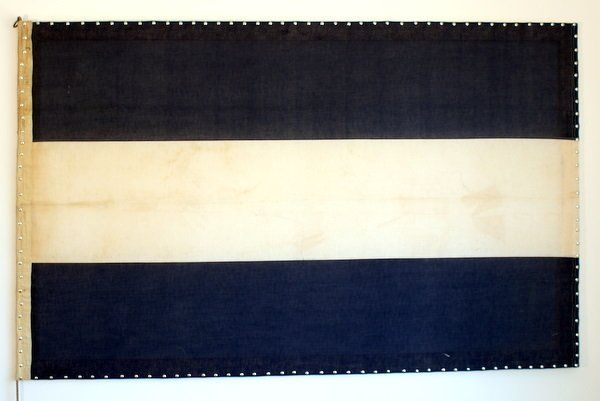 How To: Create Wall Art Using a Vintage Flag