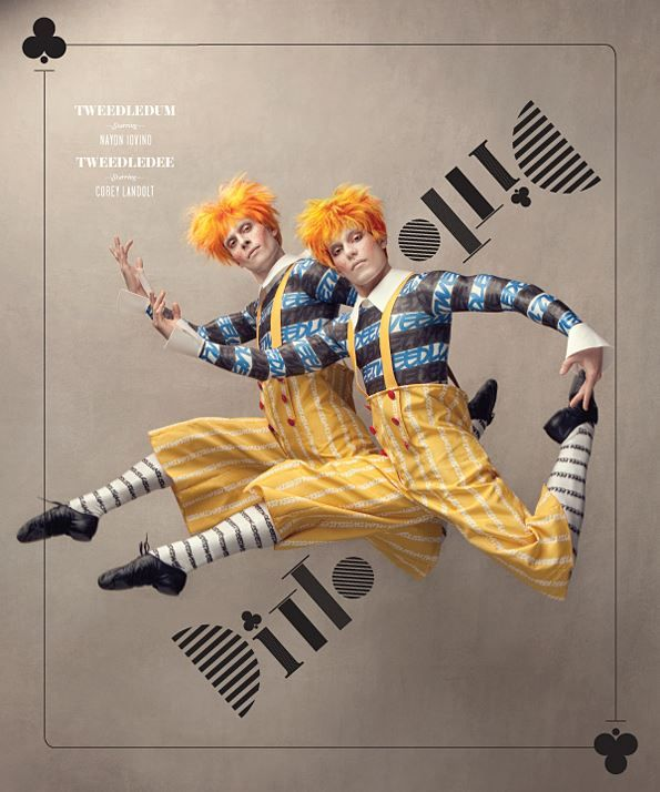 Washington Ballet's production of Alice in Wonderland earned the design firm a win in the 2014 HOW Promotion Design Awards.