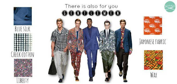 trendy summer men moodboard - fabrics online supercut.it