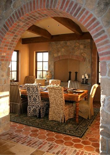 Mediterranean Dining Photos Rustic Tuscan Decor Design, Pictures, Remodel,  Decor And Ideas