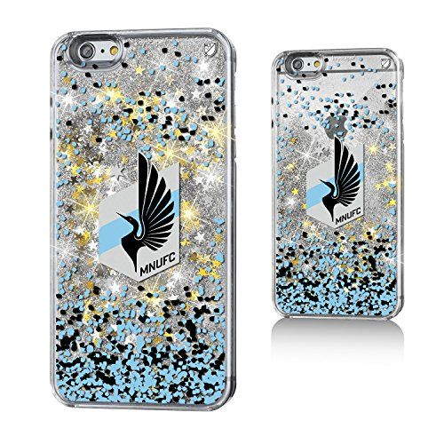 Minnesota United FC Gold Glitter iPhone 6+ Case MLS  http://allstarsportsfan.com/product/minnesota-united-fc-gold-glitter-iphone-6-case-mls/  Officially Licensed by MLS Designed and printed in Portland, OR USA Solid acyrlic body with floating glitter back.