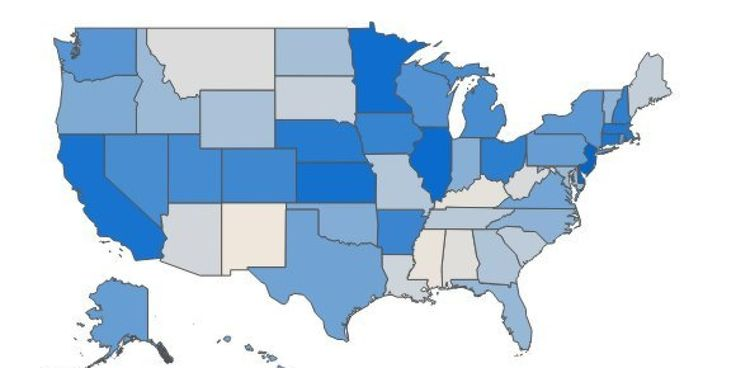Is your state one of the ones that relies on Uncle Sam the most?...