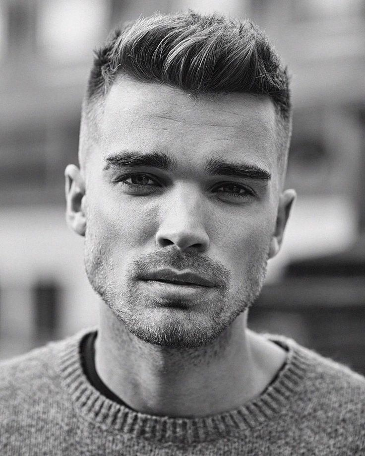 Short Hairstyles For Guys Mesmerizing 442 Best Trendy Short Hairstyles For Men✂ Images On Pinterest