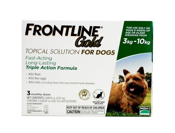 Flea Control Frontline Gold For Small Doghttp Www