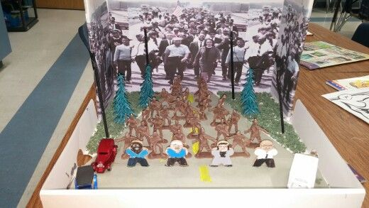 Martin Luther King Civil Rights Diorama Projects