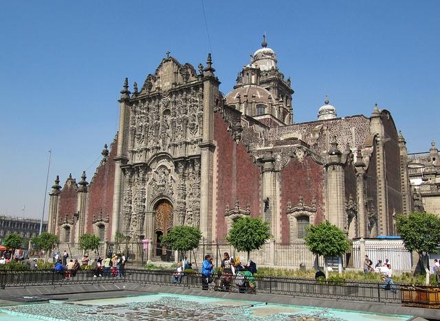 Metropolitan Cathedral - Catedral Metropolitana, Zocalo, Historic Centre, Mexico City, Mexico