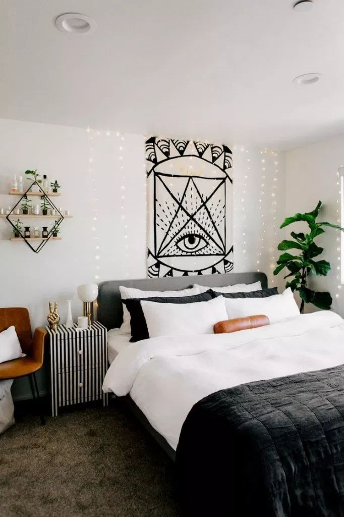 46 modern small bedroom ideas for couples 27 | Small ...