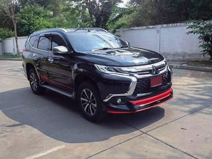 """Newest car """"Mitsubishi All New Pajero Sport 2016"""" by 45BAR #45bar  #ByAmotriZ For more information Mobile: 0985324535   Line: https://line.me/ti/p/~0985324535 Facebook : https://www.facebook.com/bodykitscar/?ref=page_internal"""