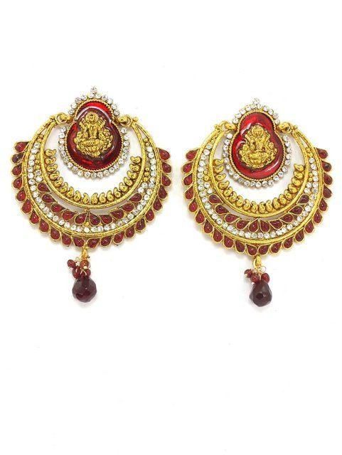 ram leela earrings by JEWELERYandHOMEdecor on Etsy, $54.99