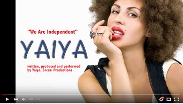 "Reverbnation: Added a new video: ""YAIYA – We Are Independent (audio preview)"""