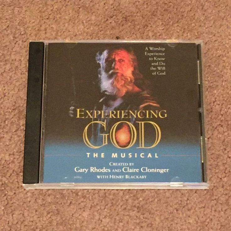 Experience God The Musical With Henry Blackaby (CD, Music, Speech, Christian)…