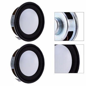 2pcs/set 4Ohm 3W 40mm Loudspeaker Woofer Audio Portable Speaker Full Range Speaker Magnetic DIY Stereo Box Accessories Wholesale  Price: 2.42 USD