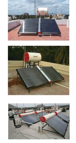 Venus brand solar heaters offers vaccum tube solar heaters in India. For more details about vaccum tube solar water heaters, please visit www.solar-waterheaters.co.in.