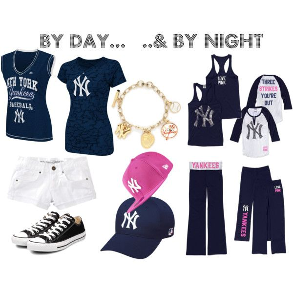 Yankee Girl.. Game time & bed time :), created by courtneykern on Polyvore