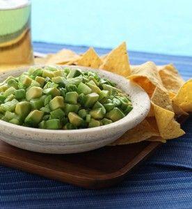 Tomatillo Guacamole   Sounds great for Cinco De Mayo!