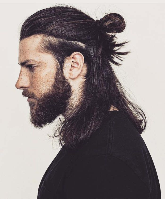 awesome hair styles for guys best 25 half ponytail ideas on grande 5716