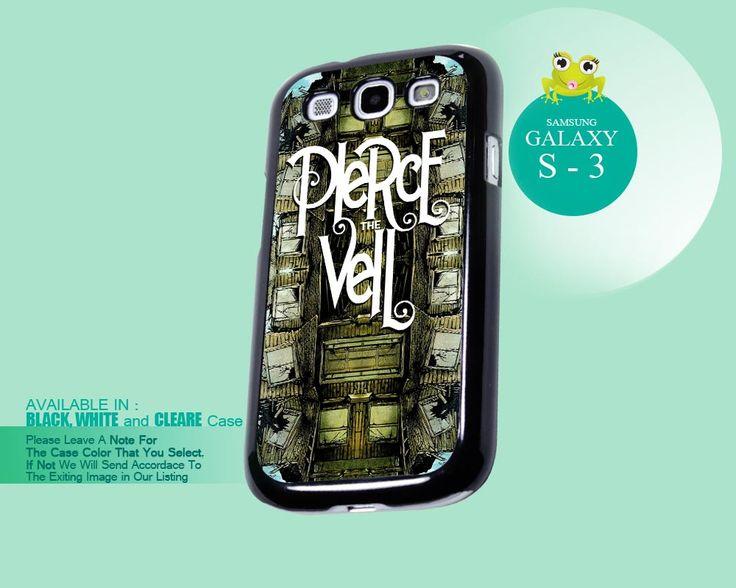 Pierce The Veil Band Logo - Samsung Galaxy S3 Case Cover #Pierce #TheVeil #Band #Logo #Phone #Case