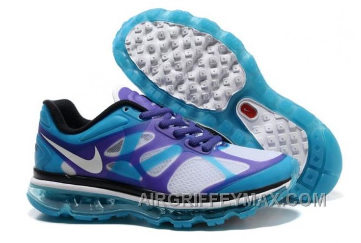 http://www.airgriffeymax.com/2014-new-for-sale-air-max-2012-womens-shoes-breathable-online-blue-purple-white-hot.html 2014 NEW FOR SALE AIR MAX 2012 WOMENS SHOES BREATHABLE ONLINE BLUE PURPLE WHITE HOT Only $102.00 , Free Shipping!
