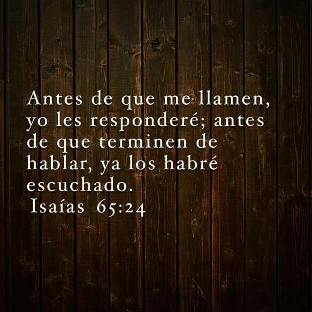 ♥ Isaias 65:24