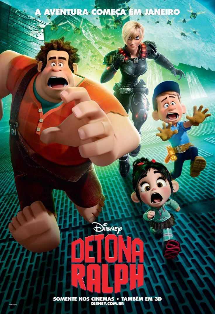 Que Pasa With All These Wreck It Ralph Posters Lately? Sure It Opens,  Friday, But There Is A New One Everyday