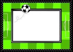 Invitaciones De Futbol Para Imprimir