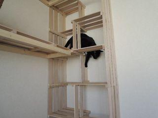きゃっとぱーてぃーハウス ~すのこ猫タワーの進化~お金をかけず夢の猫ハウスに一歩前進!