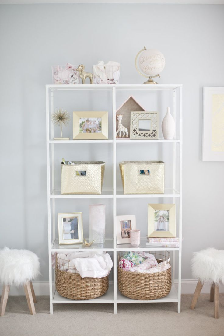 Baby nursery shelving ideas