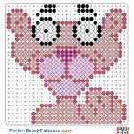 Pink Panther perler bead patterns web 6c122