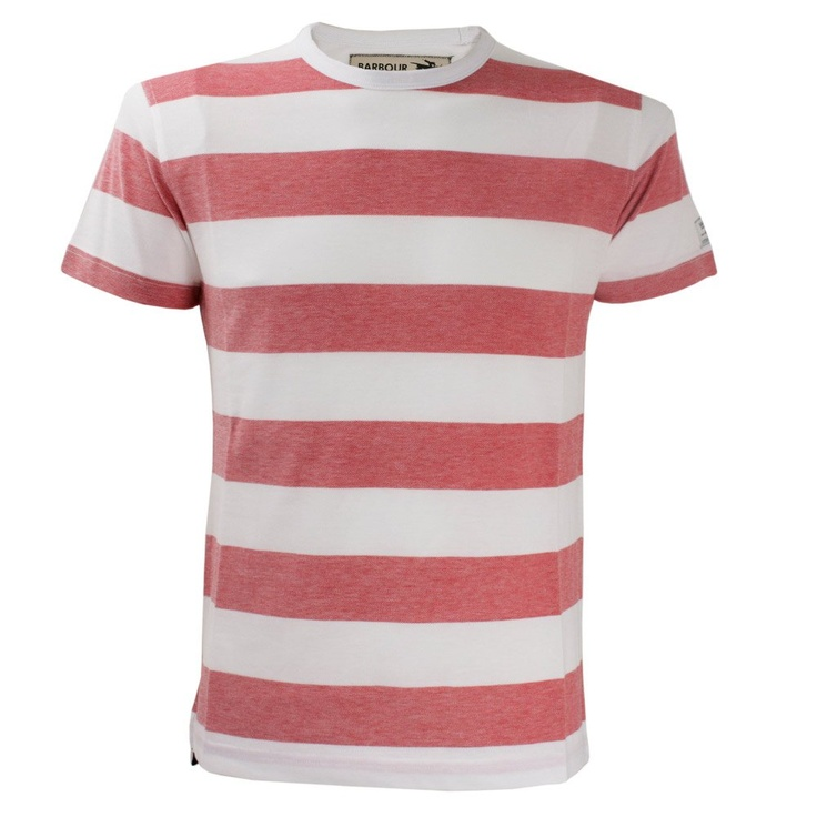 Barbour Steve McQueen™ Sonoran Red T-Shirt: Mcqueen Sonoran, Red T Shirts, Men'S S Apparel, Sonoran Red, Pirates Stripes, Steve Mcqueen, Men Fashion, Men'S Fashion, Pirate Stripes