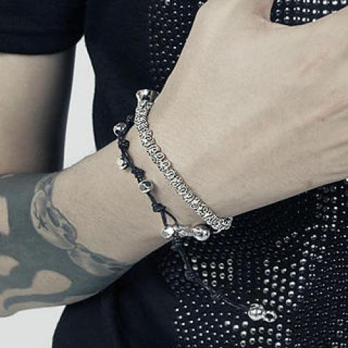 Steek Beaded Bracelet