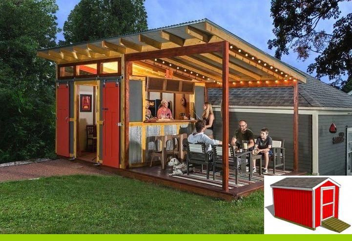 Cheap Modern Shed Projects For The Artist In You Shedplans Sheshedplans Shed Blueprints Shed Design Modern Shed